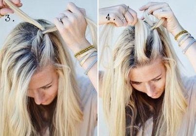 Moda blog peinados trenzas f ciles y sencillas - Como hacer trenzas sencillas ...