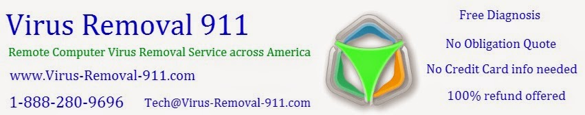 Remote Virus Removal Service Nationwide America | Virus Removal 911