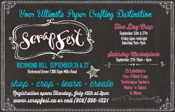 ScrapFest 2014 - Richmond Hill