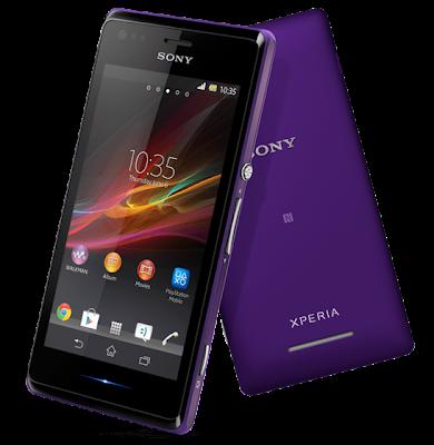 Spesifikasi Sony Xperia M