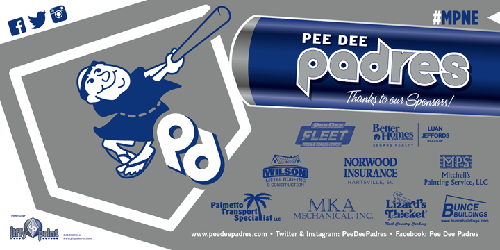 Pee Dee Padres Sponsor Spotlight Mitchell S Painting