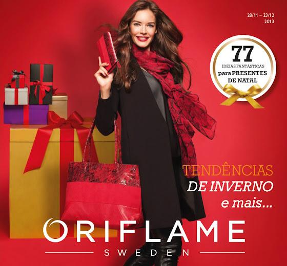 Flyer de Natal do Catálogo 17 de 2013 da Oriflame