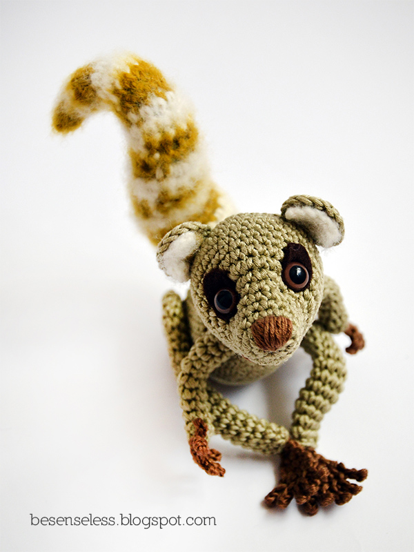 Amigurumi Free Pattern Italiano : Lemur catta amigurumi airali