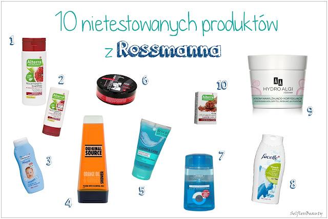 Rossmann kosmetyki nietestowane