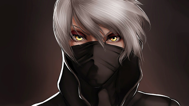 Masked Anime Guy HD Wallpaper