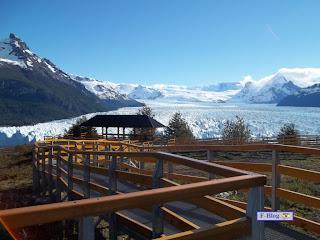 Glaciar Perito Moreno - El Glaciar desde arriba