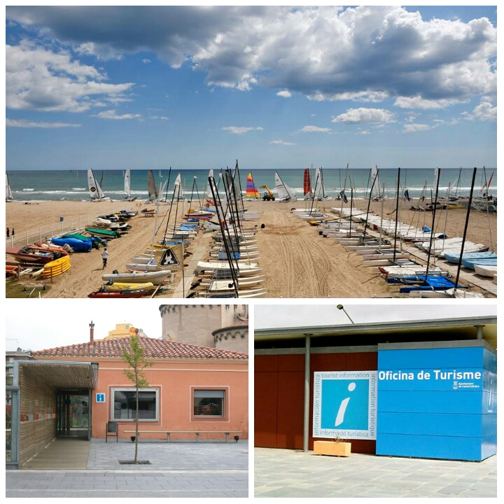 Noticias de castelldefels la playa y la oficina de for Oficina de turismo barcelona