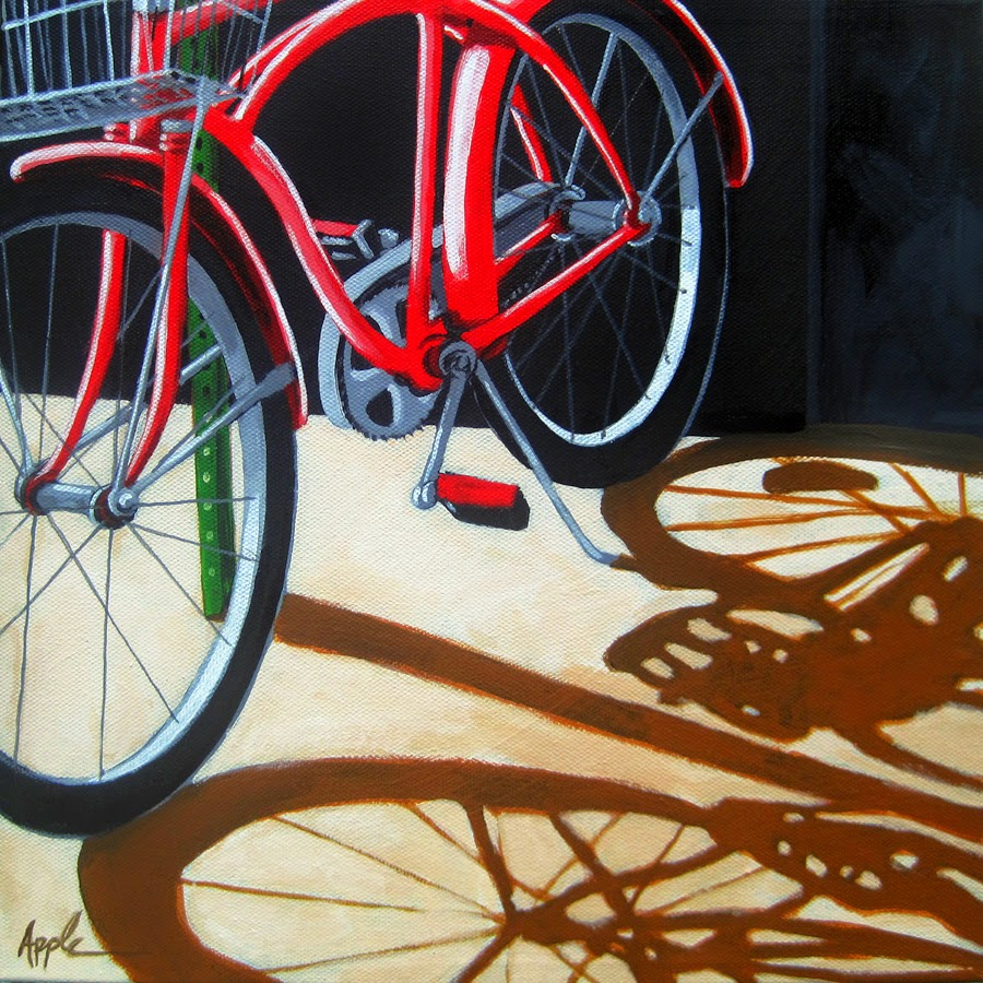 http://www.applearts.com/content/shadows-old-red-bike-basket-city-urban-art