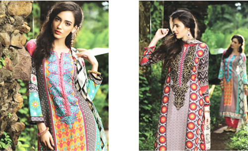MARIA B Indian Pashmina Collection 2014-2015