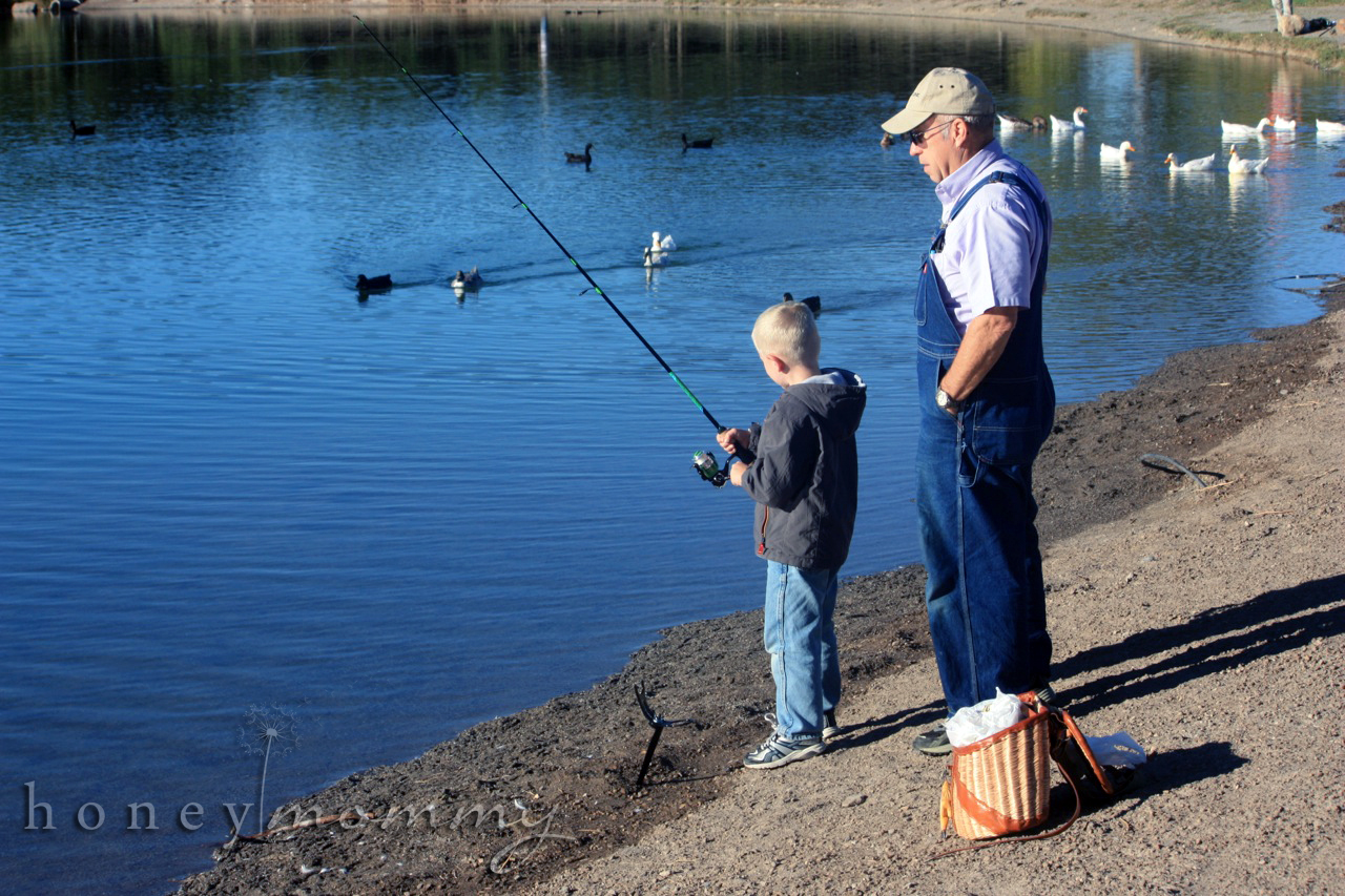 Honey mommy the joys of boys camping and fishing for Campsites with fishing