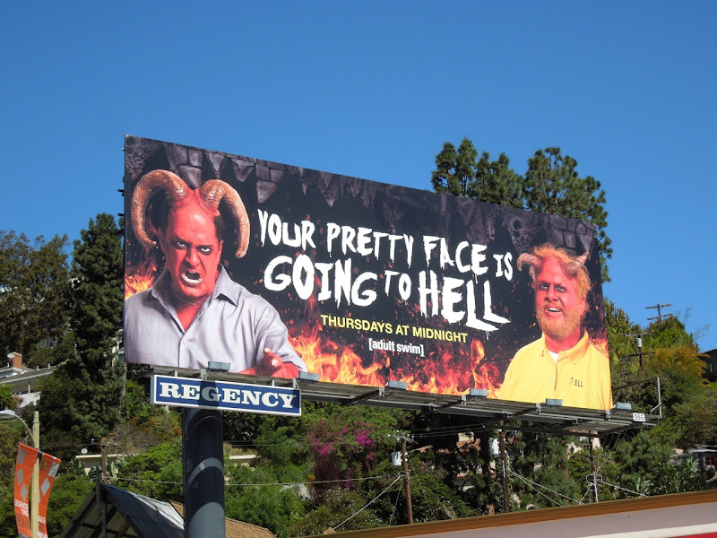 Pretty Face Hell billboard