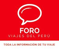 Foro de Viajes del Perú ¡PARTICIPA!
