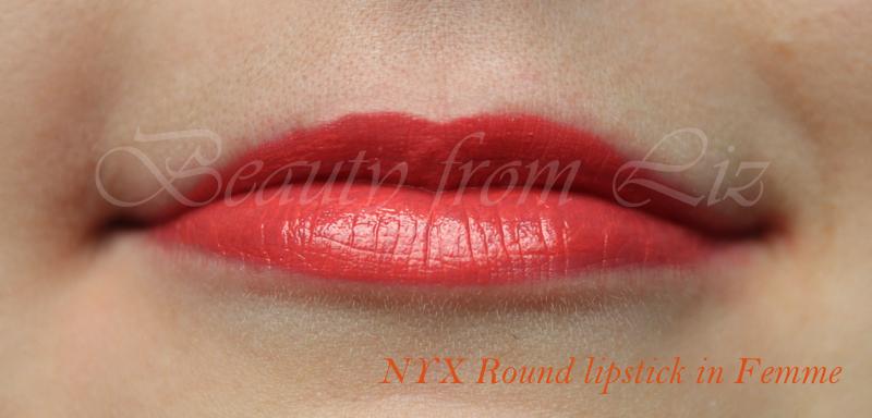 Beauty from Liz: Review: NYX Extra Creamy Round Lipsticks