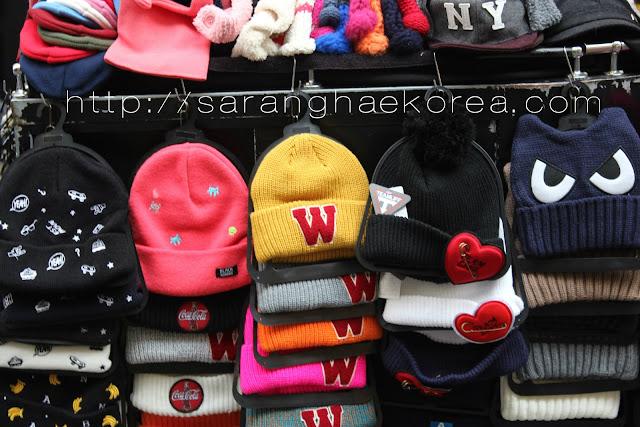 Hats with design in Korea