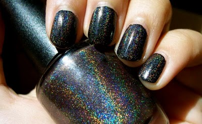 Glitter! Sparking season. This is the hot nail polish that will combine with