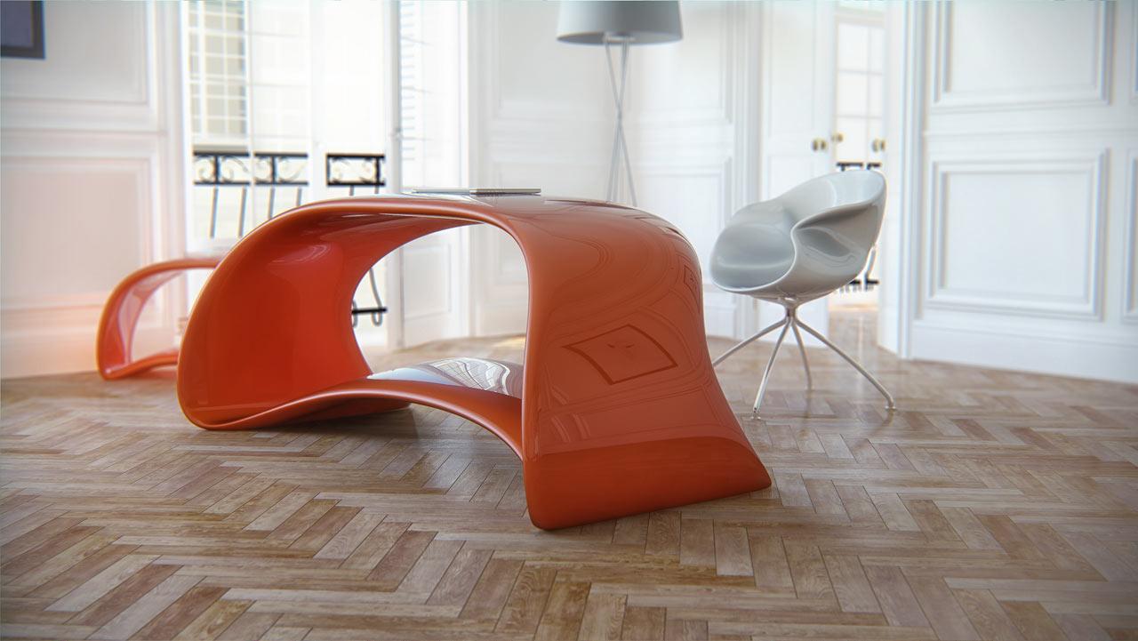 Ergonomisches Design Stuhl Nuvist Eidos