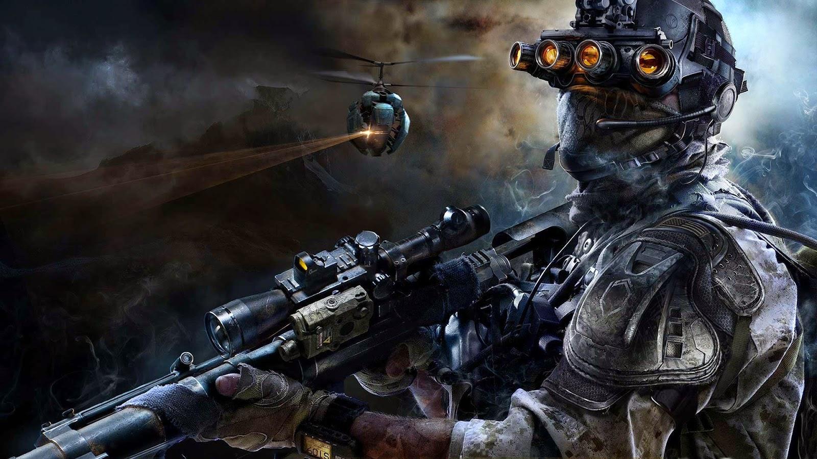 Papel de Parede Jogo Sniper Ghost Warrior 3