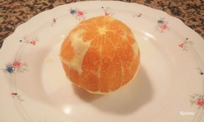 que no quede piel en la naranja