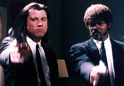 Samuel L. Jackson in Pulp Fiction