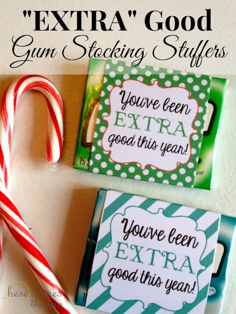 """Extra"" Good Gum Stocking Stuffers"