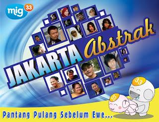 Logo Mig33 Jakarta Abstrak
