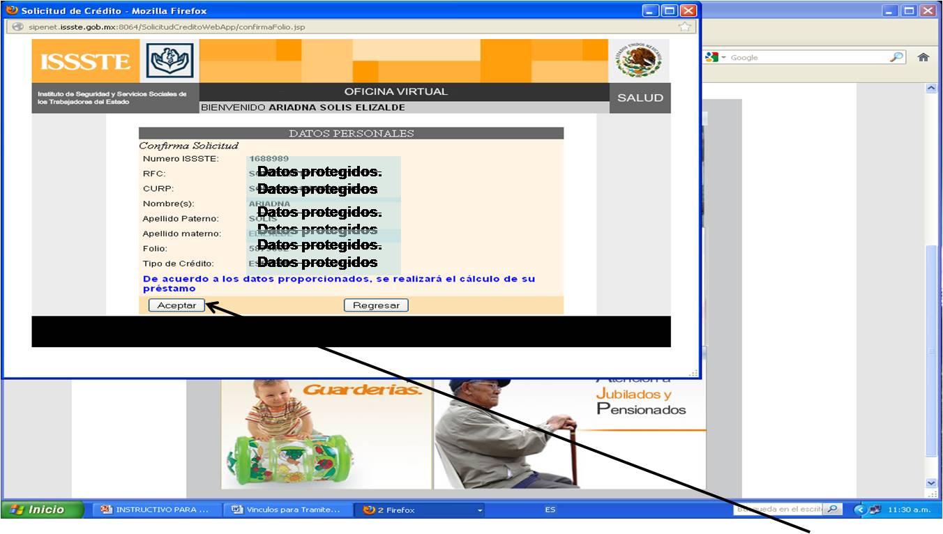 Recibos issste jubilados sinavid oficina virtual for Oficina virtual del issste