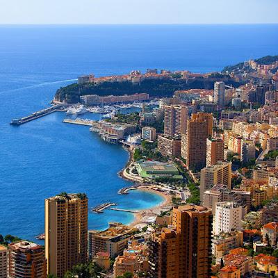 Ciudad de Montecarlo, Mónaco. (Panorámicas Bonitas)