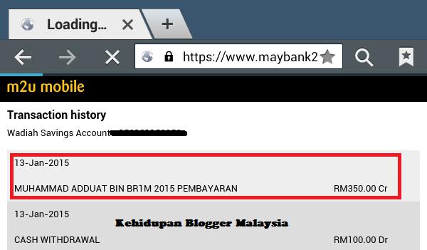 Pembayaran Dan Semakan Br1m 4.0