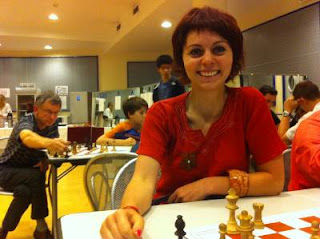 La vice championne de France 2011, Nino Maisuradze © Chess & Strategy