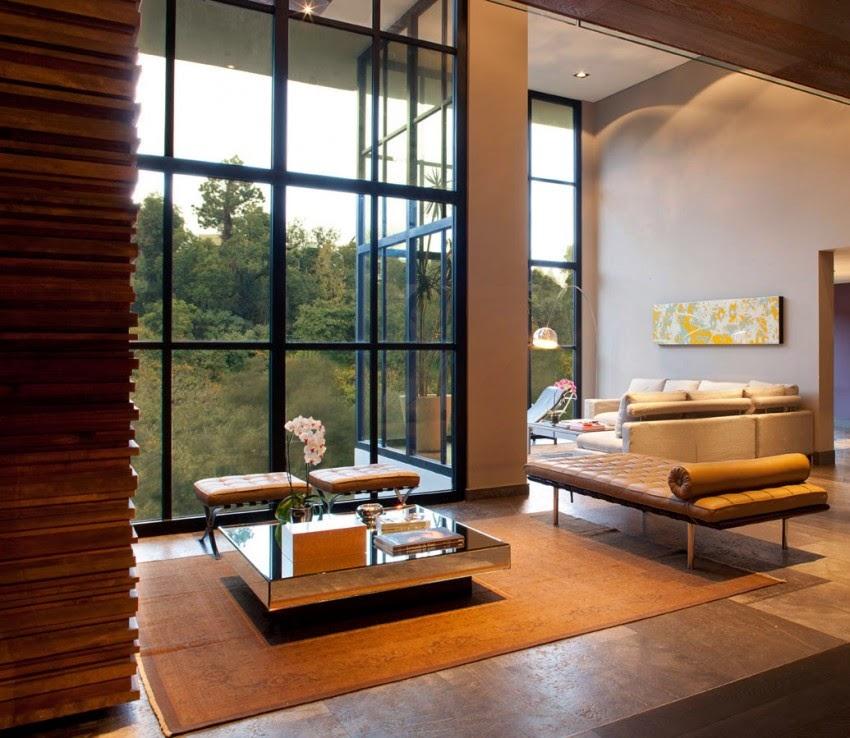 Baño Estilo Contemporaneo: & Arquitectura: Residencia Fa Estilo Contemporáneo en México