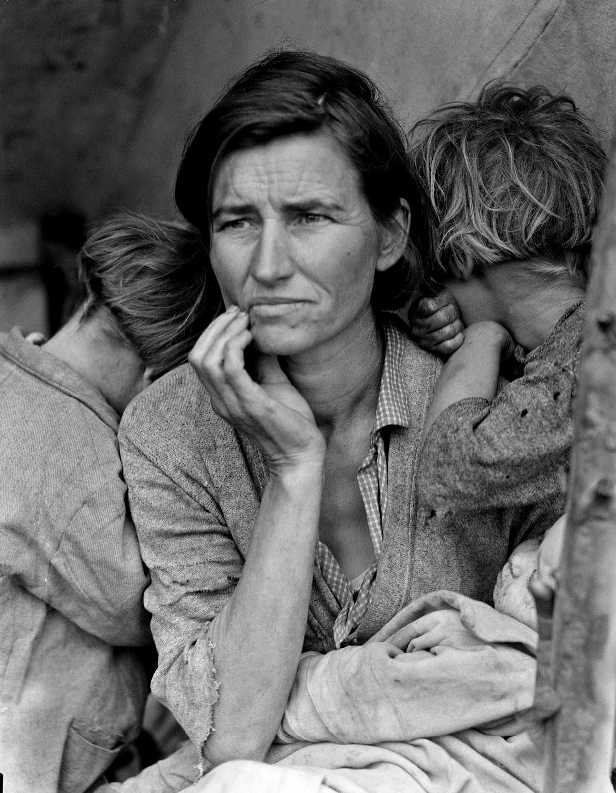 History in Photos: Dorothea Lange - Migrants