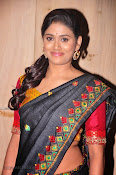 Actress Maneesha Photos in Saree-thumbnail-18