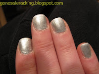 Tribeca Silver NYC nail polish swatch