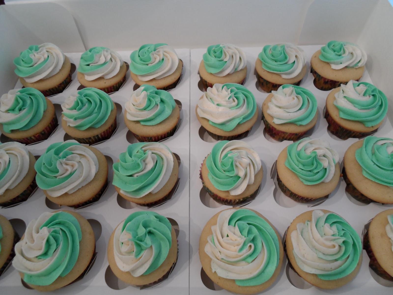 Love for Cupcakes: Missouri S&T Graduation Swirl Cupcakes
