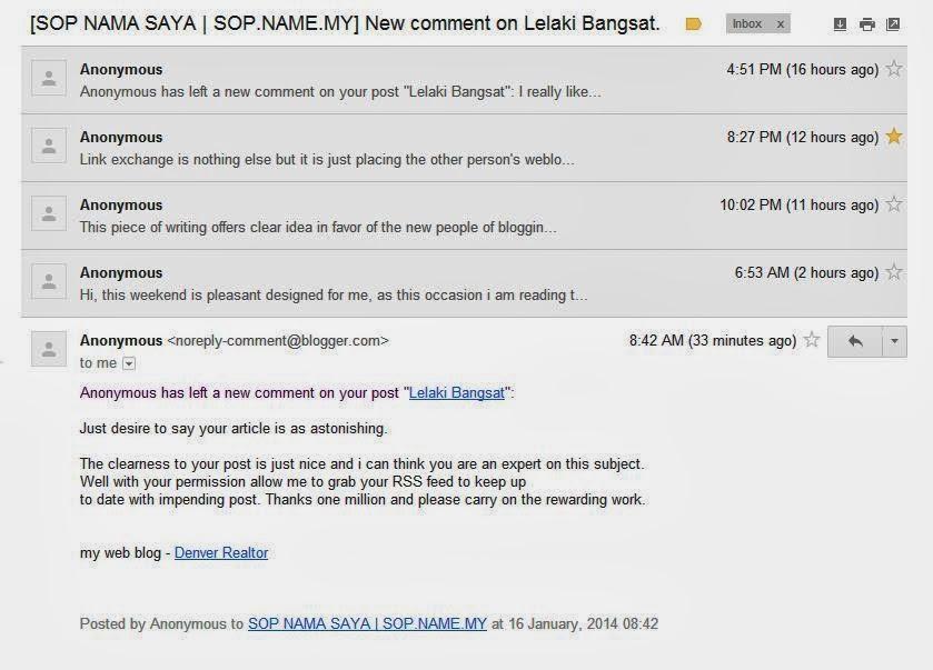 Anonymous menyerang kotak komen