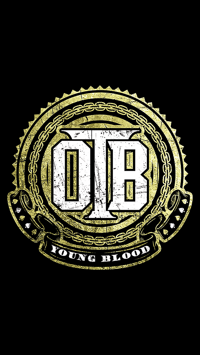 Obey The Brave Metal Hardcore Band Iphone  Wallpaper Hd Retina Young Blood Album Cover Artwork