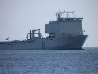 RFA Mounts Bay - Bournemouth Air Fest 2012