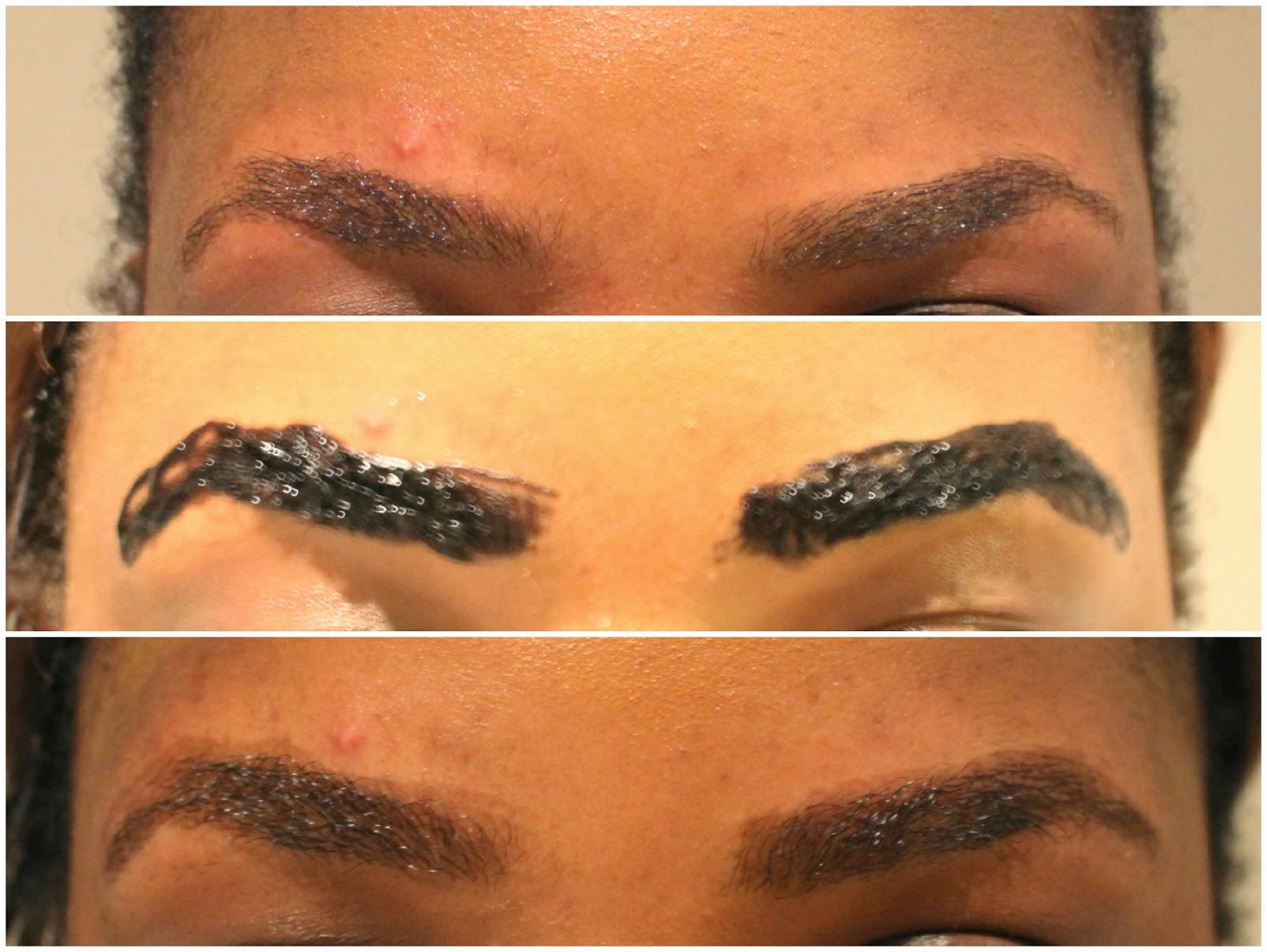Henna Tattoo Eyebrows : Henna brows process makedes