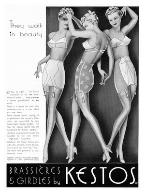 In The Boat With Vivian Lingerie Of The 1930 S