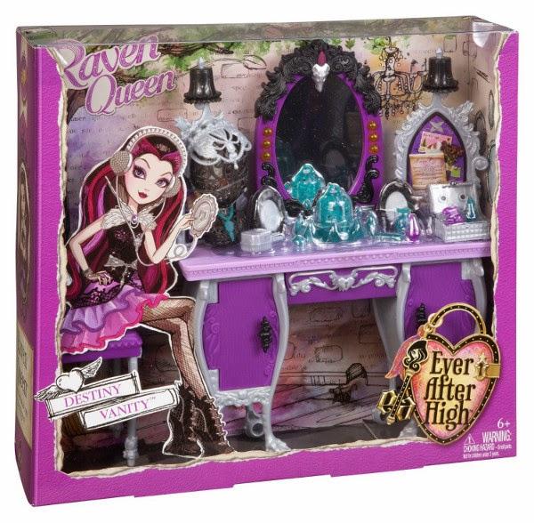 TOYS : JUGUETES - EVER AFTER HIGH   Accesorios - Raven Queen Destiny Vanity  Producto Oficial 2014 | Mattel BDB17 | A partir de 6 años