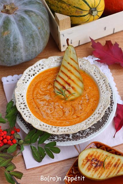 zupa dyniowo-gruszkowa