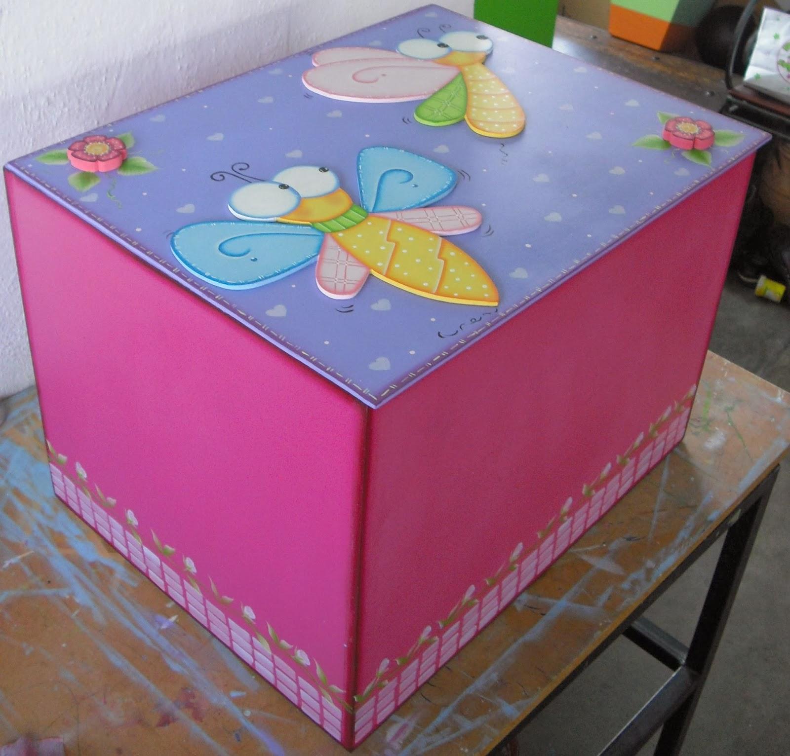 Cajas gigantes para guardar juguetes en mdf mis tablas - Cajas grandes de carton decoradas ...
