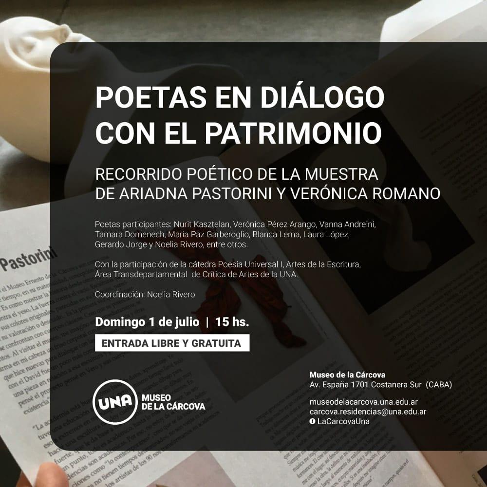 Poetas en diálogo con el patrimonio. Museo de La Cárcova. 2018.