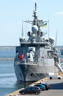 турецкий корабль в Одессе