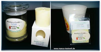 Kerzen 2.0 im Glas