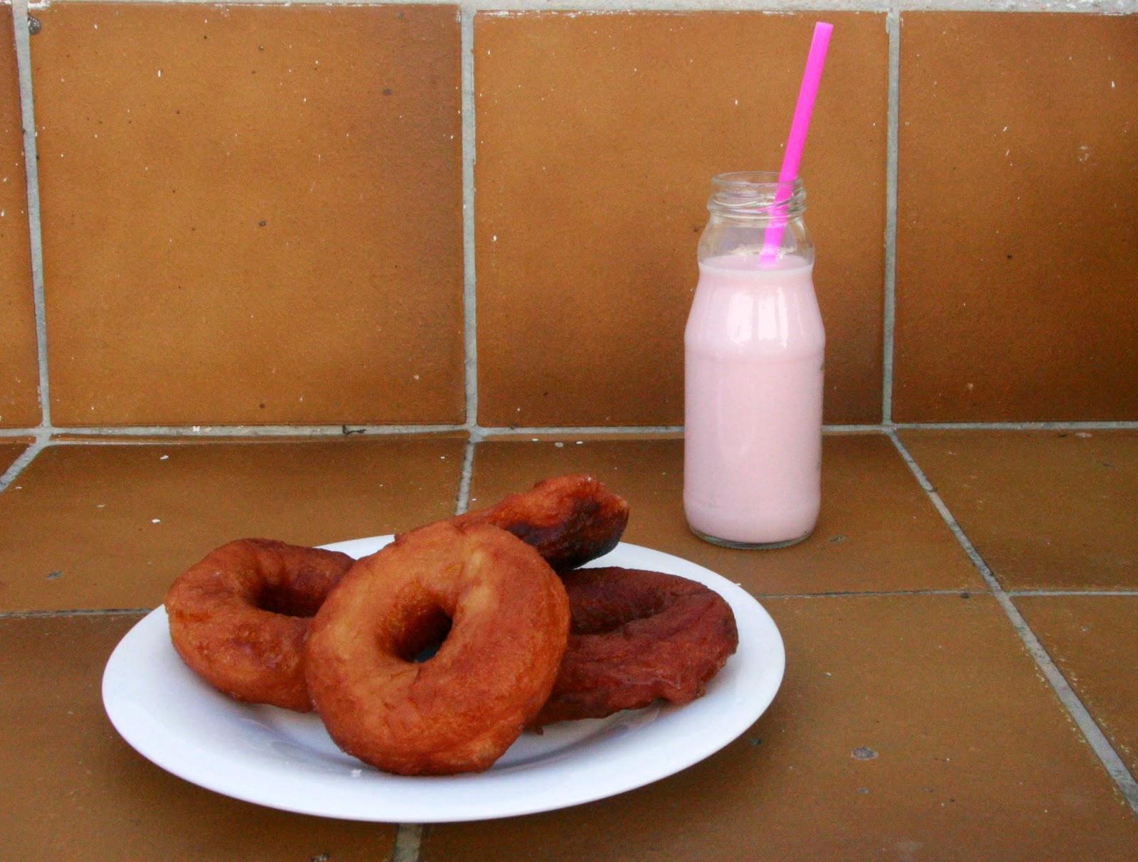 Donuts casolans per esmorzar