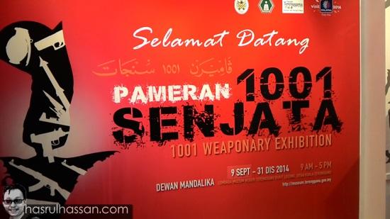 Pameran 1001 Senjata Muzium Negeri Terengganu