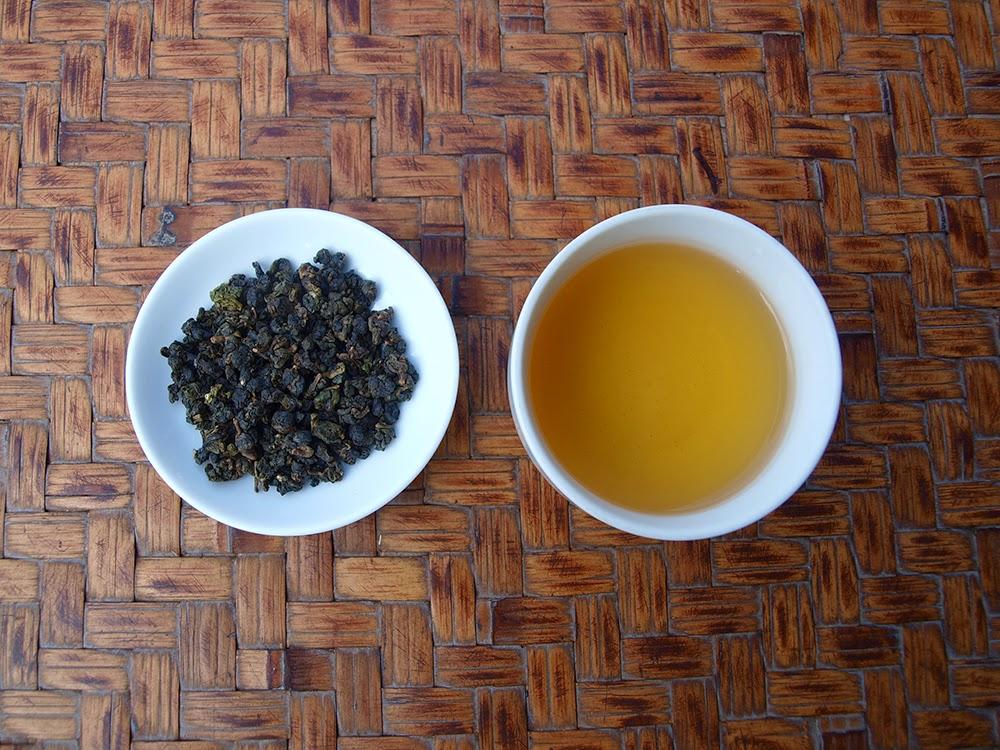 凍頂烏龍茶 茶湯