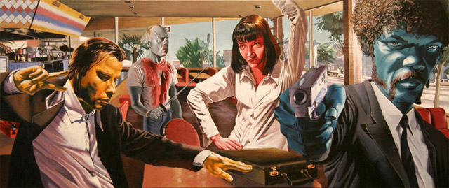 filmes cartunizados justin Reed pulp fiction
