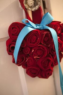 Rose per San Valentino - Fai da te un cuore